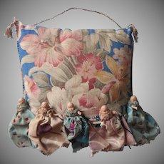 1930s Pincushion Baby Dolls Decoration Vintage Delightfully Odd