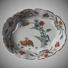 Haviland Limoges Golden Quail Relish Bonbon Bowl Dish Vintage
