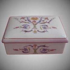 Elizabeth Arden Vintage Porcelain Box Vanity China