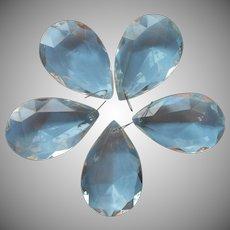 Huge Vintage Chandelier Prisms Pendalogue Drop Pendant 2 x 3 inches