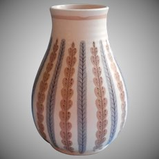 Poole Mid Century Art Pottery Vase Vintage Alfred Read 337 England