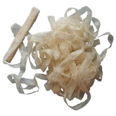 Antique Lace Trim Yardage Unused 13.5 Yards .5 Inch wide