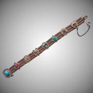 Vintage Slide On Mesh Victorian Revival Bracelet Not Your Usual