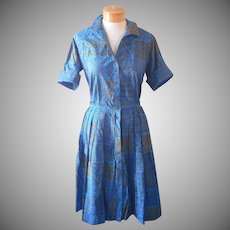 1960s Skirt Shirt Set Donnkenny Vintage Shirt Dress Look