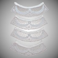Vintage Lace Collar or Cuffs Or Pocket Trim 1920s