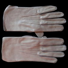 Vintage Deerskin Gloves Saranac Men's 8 S or Women's XL