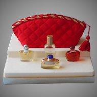 1994 Victoria's Secret Gift Set Mini Perfume Rapture Victoria Encounter Second Skin Satin