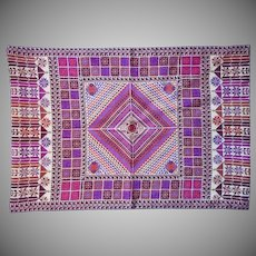 Vintage Hand Embroidery Pillow Cover Middle Eastern