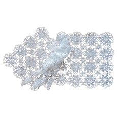 Runner Crocheted Lace Vintage Classic Simple