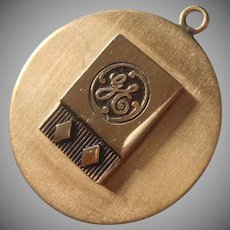 G.E. Charm General Electric Vintage Gold Filled 20 Years Service Award