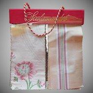 Scalamandre Fabric Sample Book Vintage