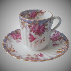 Tiffany and Co. Spode's Irene Demitasse Cup Saucer