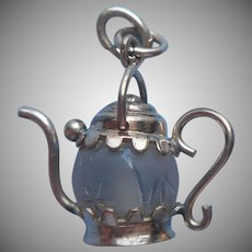 Antique Fob Charm Teapot