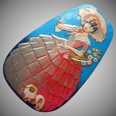 1920s Candy Tin Horner Pekingese Dainty Dinah Vintage