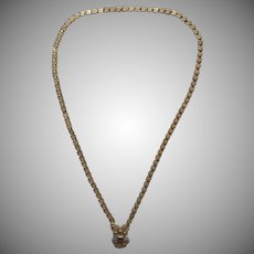 Victorian Damaged Necklace Book Chain Effect TLC