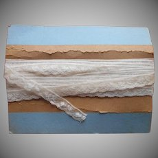 French Vintage to Antique Lace Trim Edging Yardage
