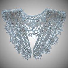 Antique Lace Collar European Bobbin Lace ca 1920