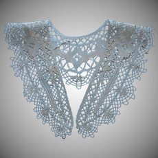 Antique Lace Collar European Bobbin Lace ca 1920