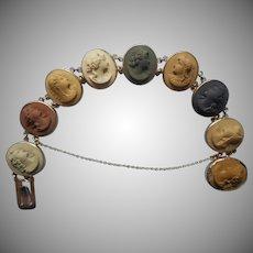 Lava Cameo Antique Bracelet