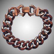 Matisse Copper Vintage Heavy Chain Bracelet Chunky Simple