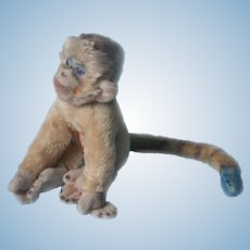 Steiff Mungo Monkey Vintage Early 1960s Paper Tag