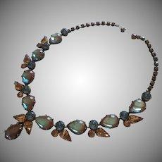 Saphiret Regency Necklace Vintage Signed