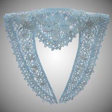 Bobbin Lace Collar Handmade Unused Antique ca 1915