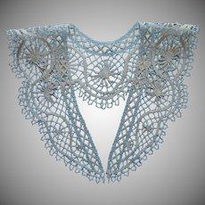 Bobbin Lace Collar Antique ca 1915 Handmadde Unused