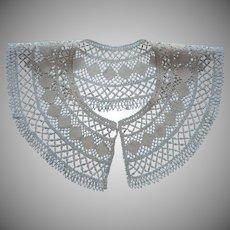 Bobbin Lace Collar Antique Unused Handmade