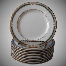 Royal Doulton Forsyth Bread Plates Vintage Bone China England