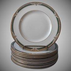 Royal Doulton Forsyth Salad Plates Vintage Bone China England