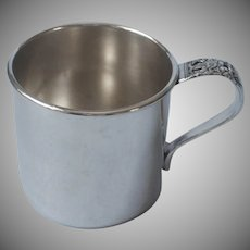 Coronation 1936 Baby Cup Vintage Silver Plated Oneida Community