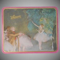 Whitman's Tin Candy Degas Ballerinas Vintage 1990s