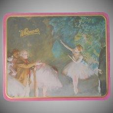 Whitman's Tin Candy Degas Ballerinas Vintage 1990s