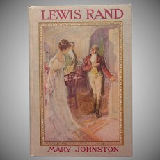 Antique Book Pretty Cover Lewis Rand 1908 F.C. Yohn Illustrations
