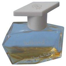 Tatiana Eau De Parfum 1970s Vintage .5 Oz Bottle Small Amount