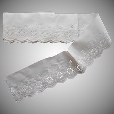 Antique Trim White Work Embroidery