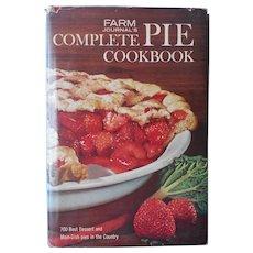 Farm Journal's Complete Pie Cookbook 1965 Vintage Book