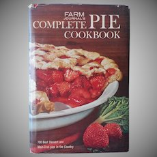 Farm Journal's Complete Pie Cookbook 1965 Vintage Book