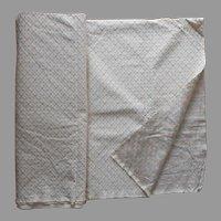 Heavy Brocade Fabric Yardage Cotton Upholstery 4.5 Yards