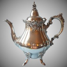 Wallace Baroque 281 Vintage Silver Plated Teapot