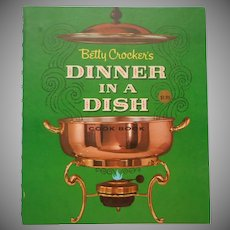 Chafing Dish Cookbook Dinner In A Dish 1965 Vintage Betty Crocker