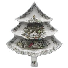 Johnson Brothers Merry Christmas Large Tree Tray : Grandview Fine