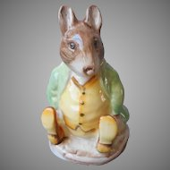 Samuel Whiskers Beswick Figure Figurine Vintage Beatrix Potter