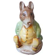 Samuel Whiskers Beswick Figure Figurine Vintage Beatrix Potter