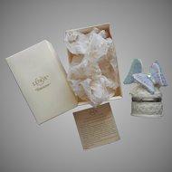 Lenox Treasure Box Precious Pansies Butterfly Box