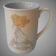 Barbara Name On Precious Moments Mug 1989 Vintage Very Sweet