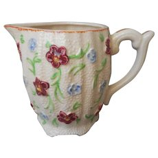 1920s Creamer Pitcher Vintage Japan Hand Painted Ceramic China