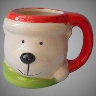 Royal Norfolk Mug Polar Bear Christmas Pottery