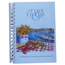 Junior League Annapolis Cookbook Of Tide And Thyme Vintage